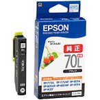 EPSON インクカートリッジ ICBK70L (増量ブラック)