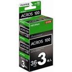 富士フィルム NEOPAN 100 ACROS 135-36枚 3本パック(新パッケージ) 135ACROS100NP36EX3SB