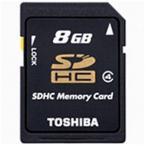 東芝 Class4対応SDHCカード(8GB) SD‐L008G4