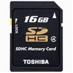 東芝 Class4対応SDHCカード(16GB) SD‐L016G4