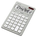 シャープ ナイスサイズ電卓 (12桁) EL‐N802‐SX