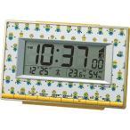 リズム時計工業 ミニオンズ デジタル電波目覚まし時計 8RZ221ME33