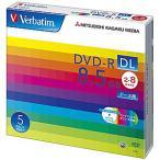 三菱化学 データ用DVD-R DL(2-8倍速/8.5GB)5枚パック DHR85HP5V1