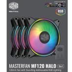 クーラーマスター ケースファン[120mm/1800RPM] Halo 3 in 1 MFL−B2DN−183PA−R1