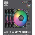 クーラーマスター ケースファン[120mm/1800RPM] MasterFan MF120 Halo 3 in 1 MFL-B2DN-183PA-R1