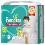 P&G Pampers(パンパース) 卒業パンツでトイレトレーニング ビッグサイズ(12kg-22kg) 32枚〔おむつ〕 パンパースソツギョウパンツ(32
