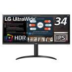 LG PCモニター ブラック  [34型 /ワイド /UltraWide FHD(2560×1080)] 34WP550B