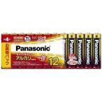 パナソニック 「単4形乾電池」アルカリ乾電池 12本パック LR03XJ/12SW