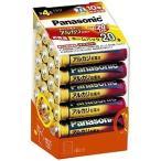パナソニック 単4形アルカリ乾電池 20本パック LR03XJ 20SH