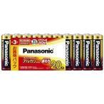 パナソニック 単3形アルカリ乾電池 20本パック LR6XJ 20SW
