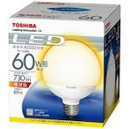 東芝 LED電球(電球色相当)「E−CORE」「一般電球タイプ」 LDG9L‐H/60W