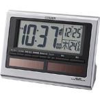 シチズン 電波目覚まし時計「パルデジットソーラーR125」 8RZ125‐019