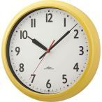 ノア精密 電波時計:モーメンタムコパン 掛け時計  電波 ステップ  直径280mm W-717 Y-Z 1個(直送品)