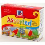 ユウキ食品 マコーミック フードカラーボックス7.25ml×4色 食用色素 青・紅・黄・緑