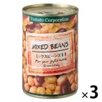 トマトコーポレーション ミックスビーンズ 1セット(3缶)
