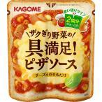 カゴメ ザクぎり野菜の具満足ピザソース 40g×2袋入