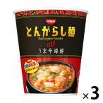日清のとんがらし麺 うま辛海鮮 64g