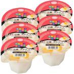 たらみ カロリコカロリカデザート80kcal杏仁豆腐みかん入り 230g 1セット(6個)