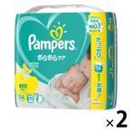 パンパース おむつ テープ 新生児(〜5kg) 1セット(114枚入×2パック) さらさらケア P&G