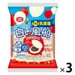 亀田製菓 白い風船チョコクリーム 18枚 1セット(3袋入)