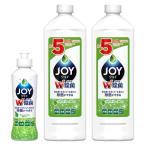 Yahoo!LOHACO Yahoo!ショッピング店お得なセット除菌ジョイコンパクト JOY(ジョイ) 緑茶の香り 本体(190ml)+詰め替え(770ml×2) 1セット 食器用洗剤 P&G