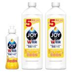 Yahoo!LOHACO Yahoo!ショッピング店お得なセット除菌ジョイコンパクト JOY(ジョイ) スパークリングレモンの香り 本体(190ml)+詰め替え(770ml×2) 食器用洗剤 P&G