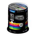 バーベイタム CD-R オーディオ 80分 100枚 MUR80FP100SV1 100枚入