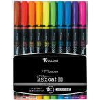 トンボ鉛筆 蛍コート80 10色セット WA-SC10C 1パック(10色入)