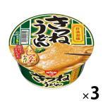 日清食品 日清御膳 きつねうどん 21755 1セット(3食)