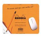 RHODIA(ロディア) クリックブロック マウスパッド 19×23 オレンジ cf194100