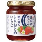 明治屋 日本のめぐみ 栃木とちおとめいちごジャム 155g