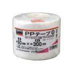 TRUSCO トラスコ中山 PPテープ 幅50mmX長さ300m 白 1巻 952-1340 360-6911