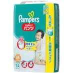 パンパース おむつ パンツ M(6〜11kg) 1パック(74枚入) さらさらケア ウルトラジャンボ P&G