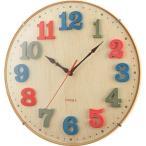 アウトレットノア精密 電波時計 エアリアルキッズ ナチュラル 1個 W-618 N