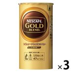 インスタントコーヒー  ネスカフェ ゴールドブレンド エコ&システムパック 1セット(105g×3本)