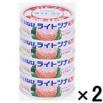 アウトレット いなば ライトツナフレーク ナチュラルミネラルウォーター使用  1セット(4缶入×2個)