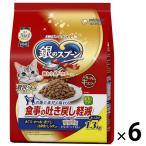 箱売り 銀のスプーン 贅沢うまみ仕立て 吐き戻し軽減フード 国産 1.3kg(小分けパック4袋入)6袋 キャットフード 猫 ドライ