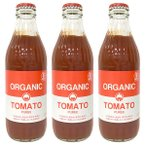 LOHACO限定オーガニックトマトピューレー 320g 光食品 1セット(3本入)