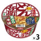 日清食品 日清のどん兵衛 天ぷらそばミニ(東日本版) 3個