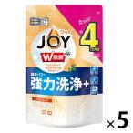 食洗機用ジョイ JOY オレンジピール成分入り 詰め替え 490g 1セット(5個入) 食洗機用洗剤 P&G