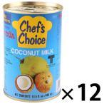 ユウキ食品 ココナツミルク(4号缶)400g 1セット(12缶)