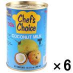 ユウキ食品 ココナツミルク(4号缶)400g 1セット(6缶)