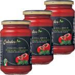 ディヴィータ オルトドーロ パスタソース・トマト&バジル 350g 瓶 1セット(3個)