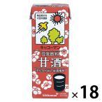 キッコーマン 豆乳飲料甘酒 200ml 36本(18本入×2)