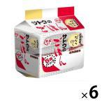 サトウのごはん 北海道産ななつぼし  5食パック 6セット計30食 サトウ食品 パックごはん 包装米飯