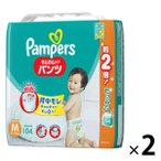 パンパース おむつ パンツ Mサイズ(6~11kg)1セット(104枚入×2パック)さらさらケアパンツ メガジャンボ P&G