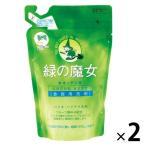 緑の魔女 キッチン洗剤 詰替スタンドパウチ360ml 1セット(2個)