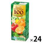 【アウトレット】エルビー Fruits Selection キャロットミックス100 200ml 1箱(24本入)
