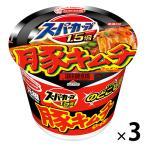 カップ麺 スーパーカップ1.5倍 豚キムチラーメン 107g 1セット(3個) エースコック