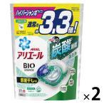 アリエール バイオサイエンス ジェルボール4D 部屋干し 爽やかな香り 詰め替え ハイパージャンボサイズ 1セット(39粒入×2個)洗濯洗剤 P&G